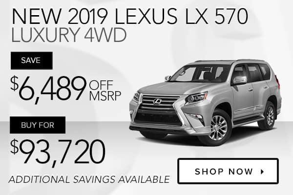 New 2019 Lexus LX 570 Luxury 4WD