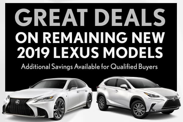 Remaining 2019 Lexus Models