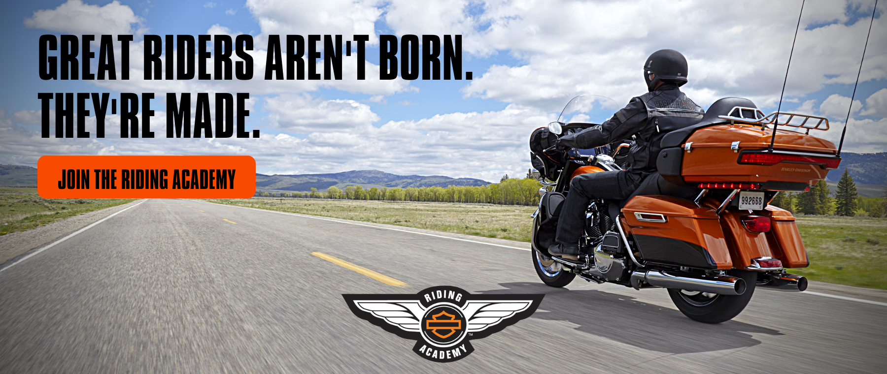 Copy of Great Riders aren't born. They're made.