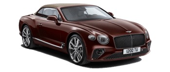 Angled view of the Continental GT Convertible