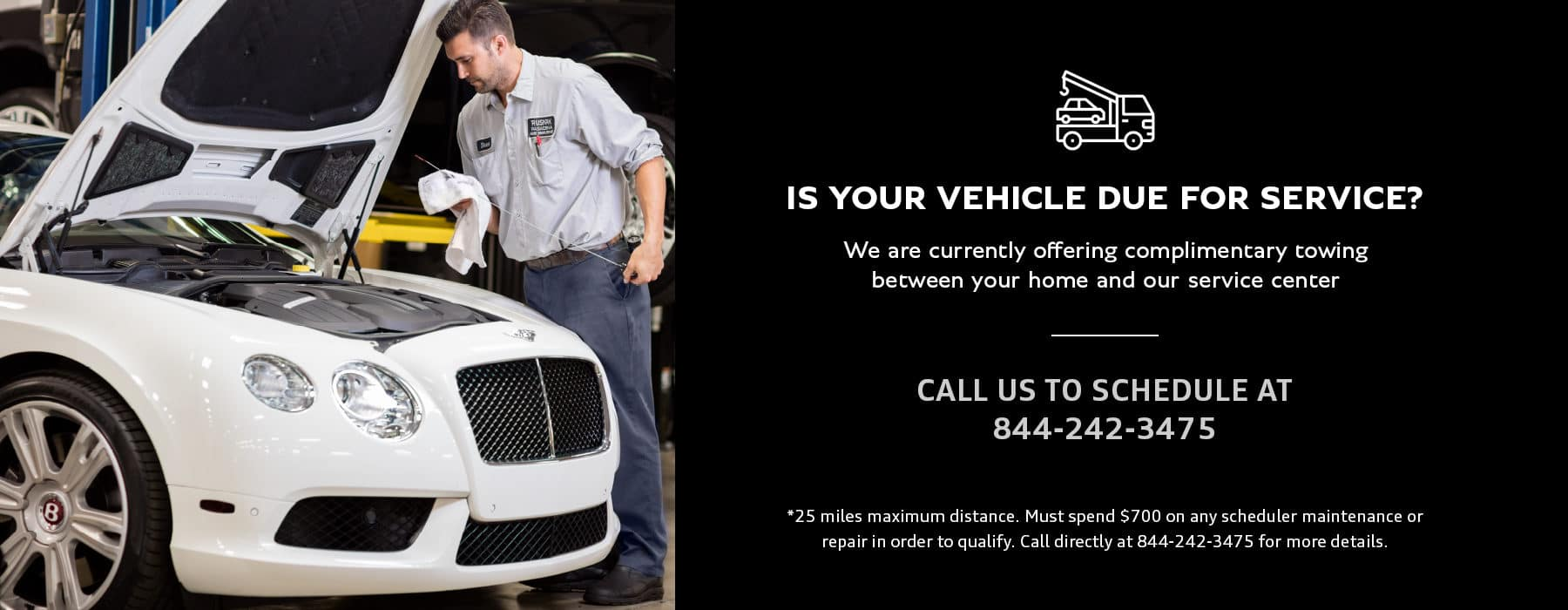 BE Towing Service slider