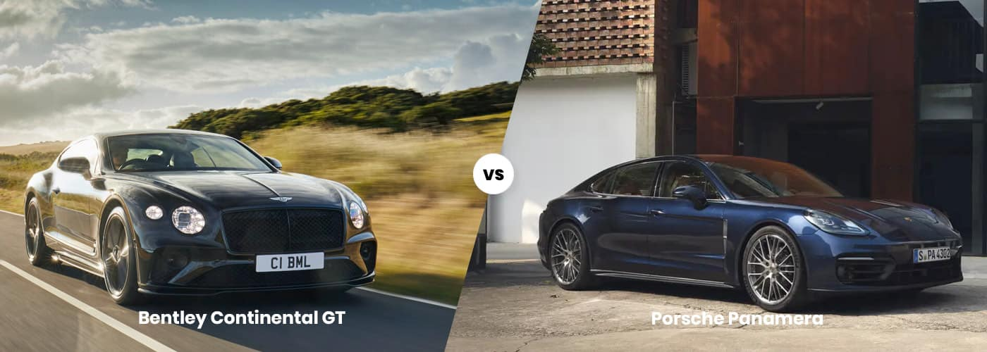 Bentley Continental GT vs. Porsche Panamera
