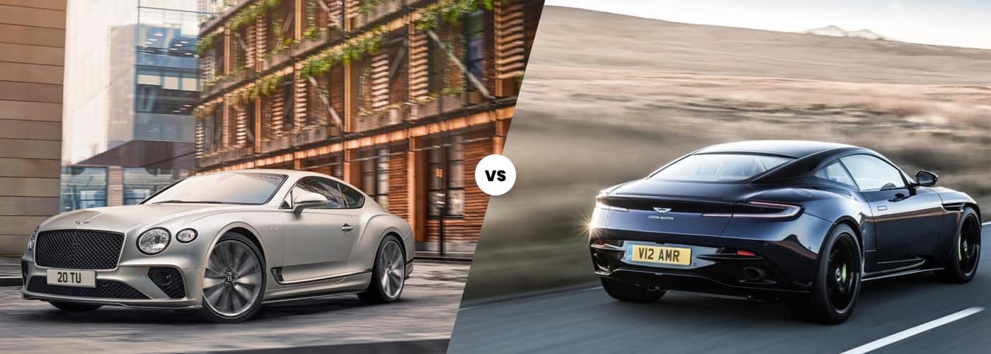 Bentley Continental GT Speed vs Aston Martin DB11