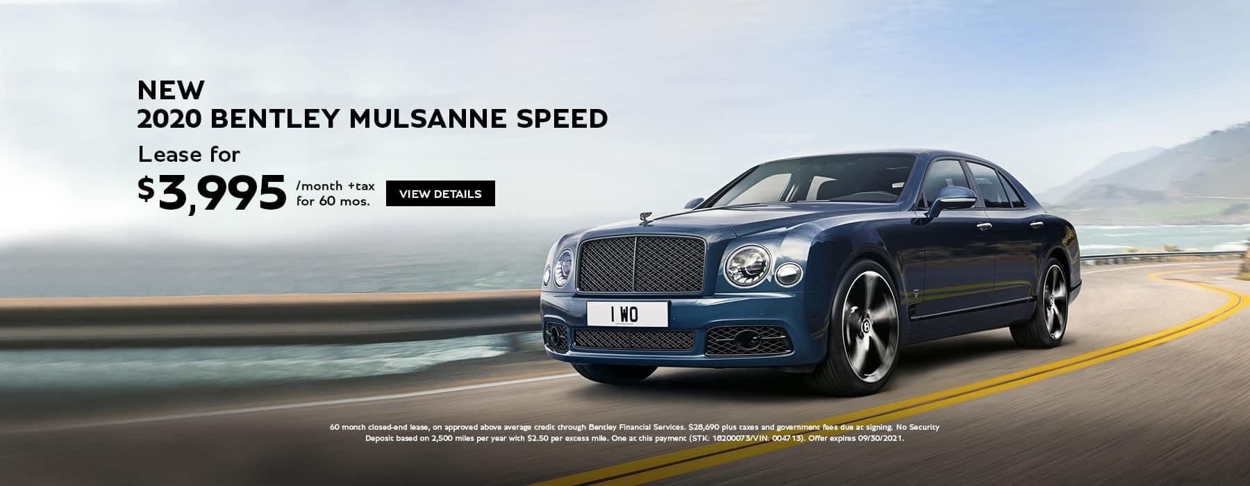 Bentley Mulsanne slider