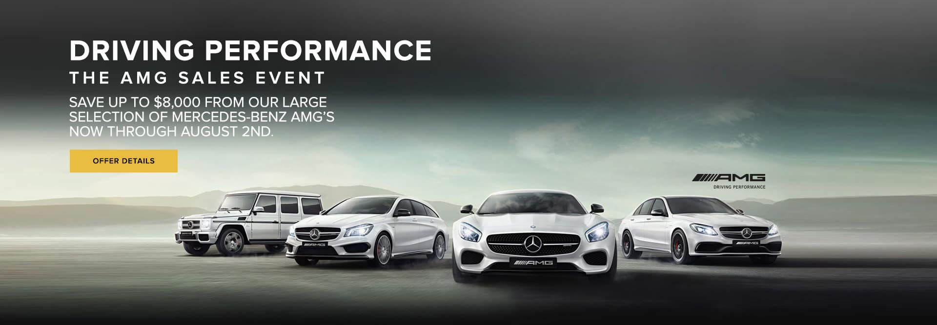 MERCEDES-BENZ AMG LINE UP
