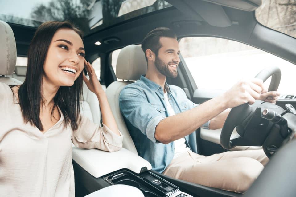 travel car ride couple