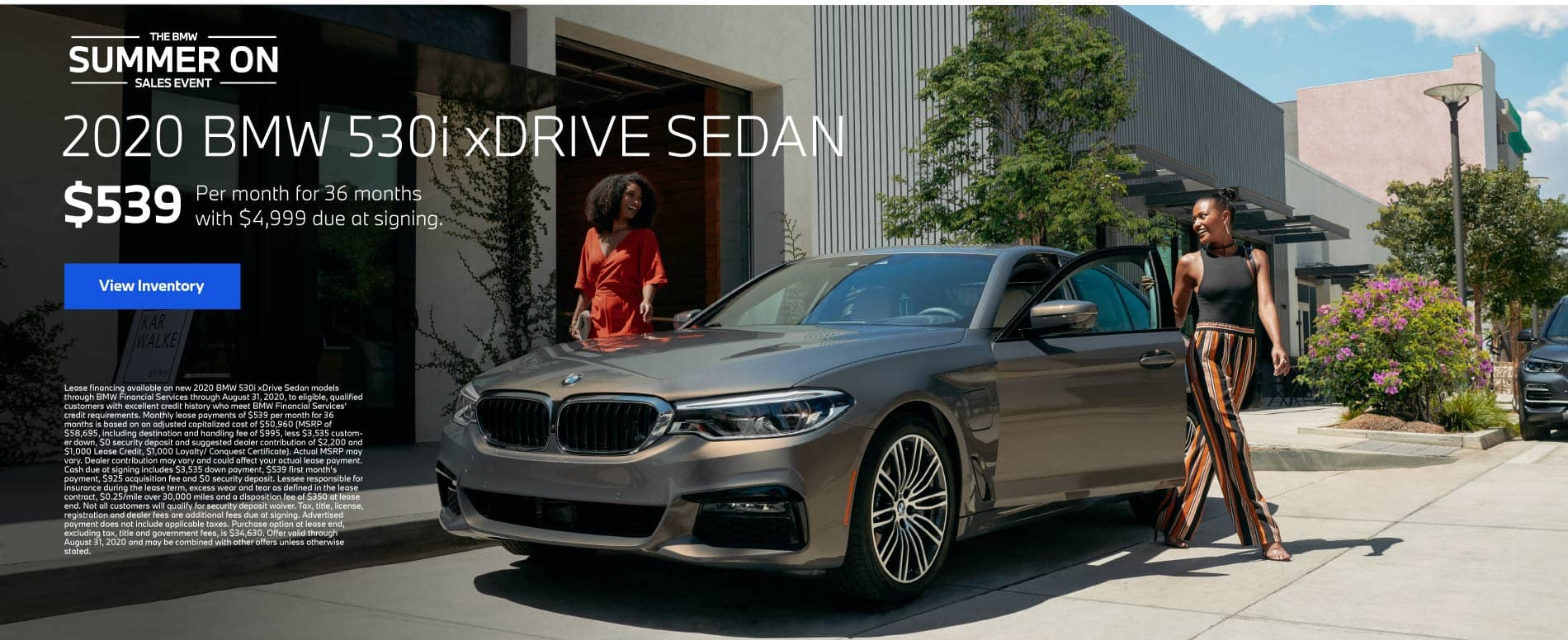 2020 BMW 530i xDrive Sedan $539 a month for 36 months | Offer Details