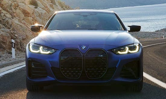 BMW i4 front grille