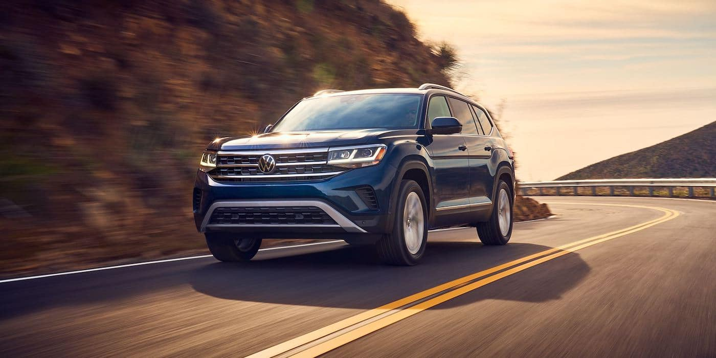 2021 Volkswagen Atlas exterior design