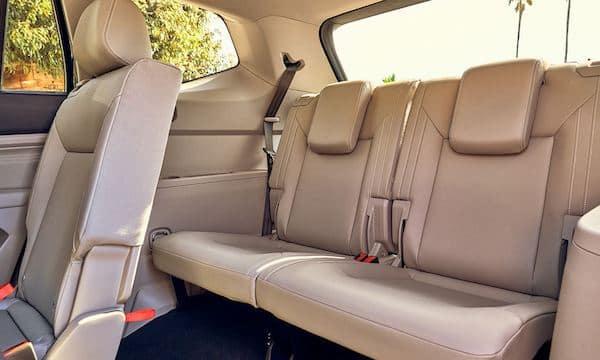 2021 Volkswagen Atlas folding seats