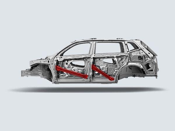 2021 Volkswagen Atlas rigid body structure