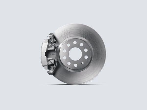 2021 Volkswagen Atlas Automatic Post-Collision Braking System