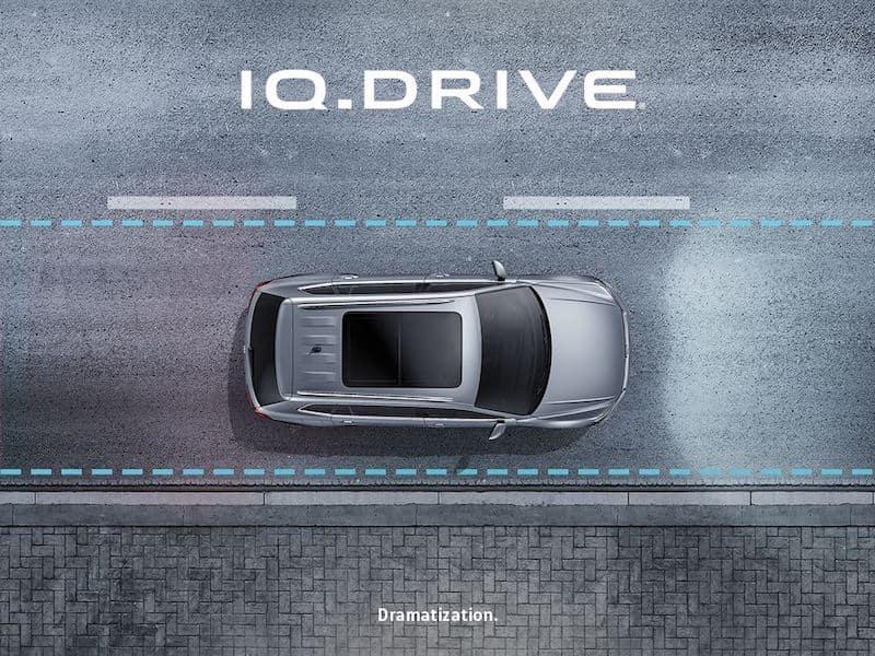 2021 Volkswagen Atlas IQ.DRIVE Advanced Drivers Assistance Technology featuring hands-on semi-autonomous capability