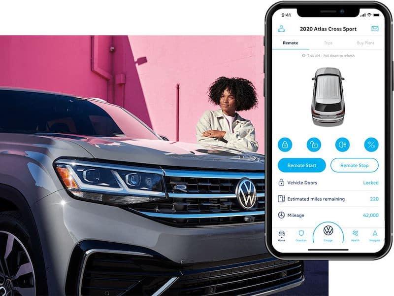 2021 Volkswagen Atlas Car-Net