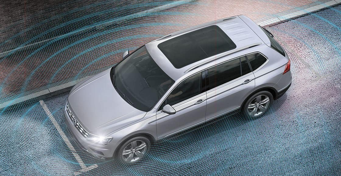 2021 Volkswagen Atlas available Overhead View Camera (Area View)