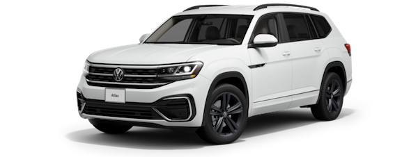 2021 Volkswagen Atlas SE with Technology R-Line model for sale at Boardwalk Volkswagen