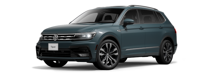 New 2021 VW Tiguan suv for sale at Boardwalk Volkswagen dealership near San Jose
