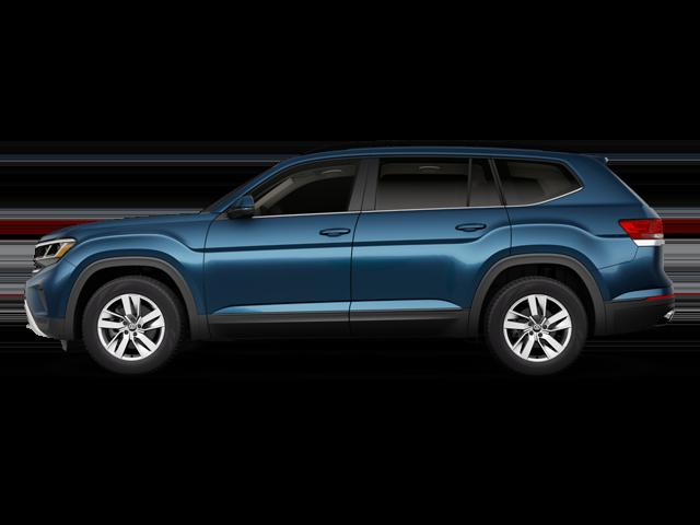 New 2021 Volkswagen Atlas suv for sale at Redwood City Volkswagen dealership near Palo Alto