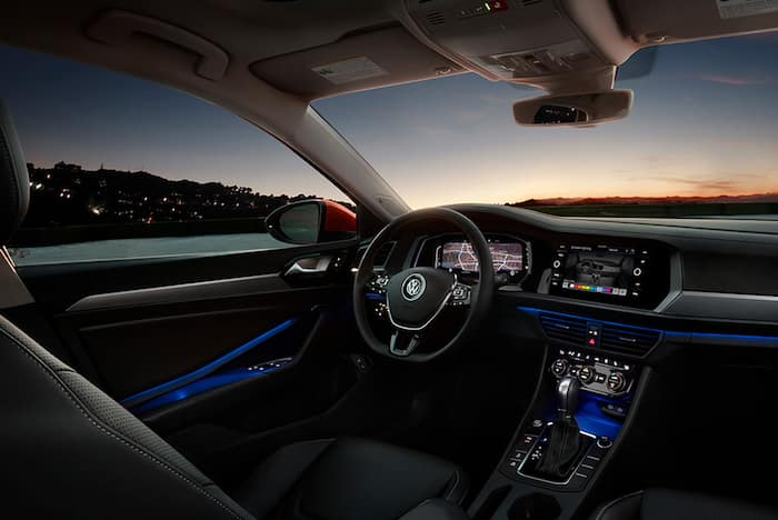 Volkswagen interior design