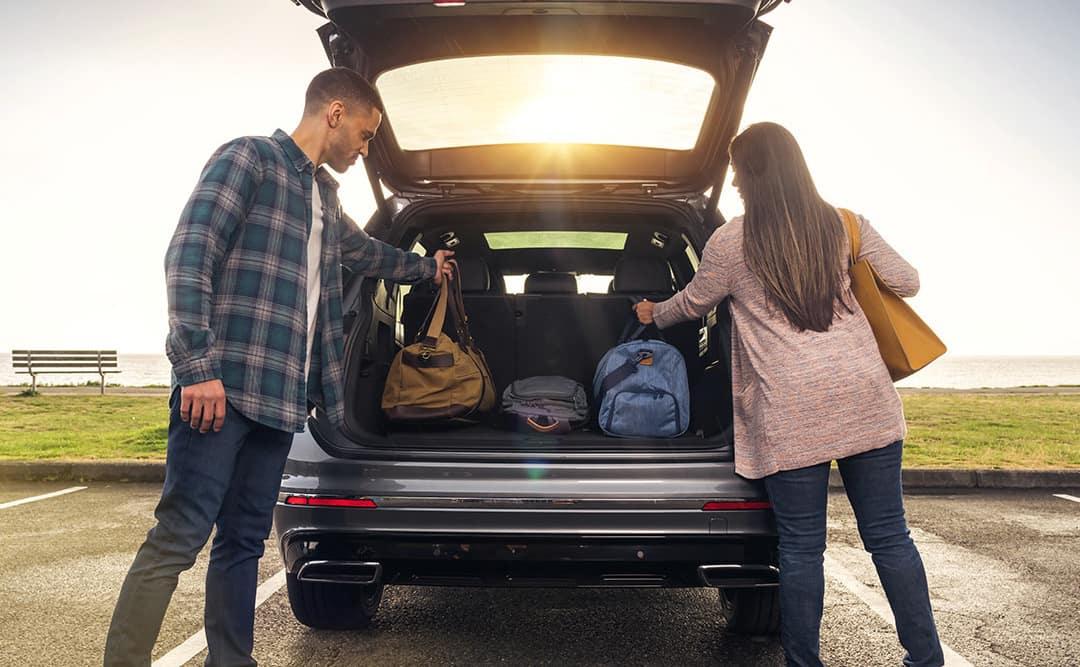 Volkswagen cargo space