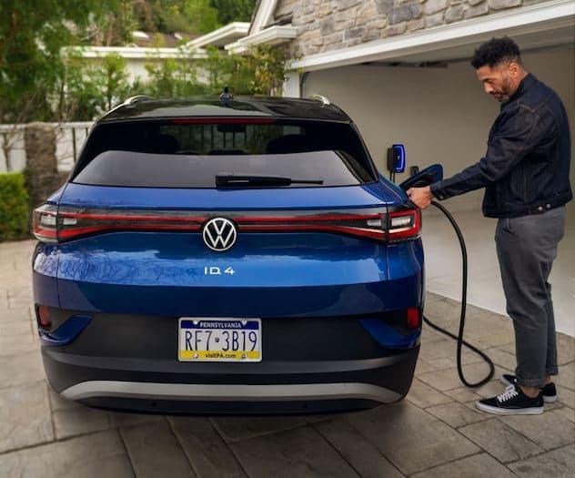 2021 Volkswagen ID.4 L2 wallbox charger