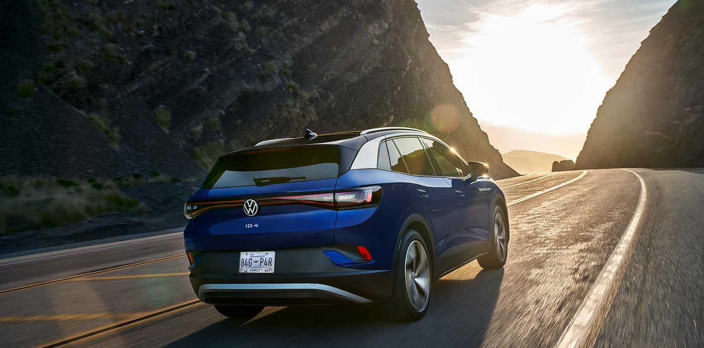 2021 Volkswagen ID.4 exterior design