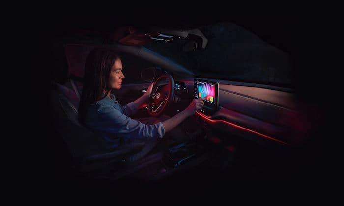 2021 Volkswagen ID.4 multimedia display screen