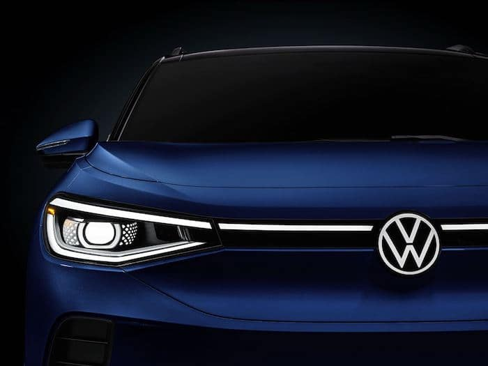 2021 Volkswagen ID.4 LED taillights