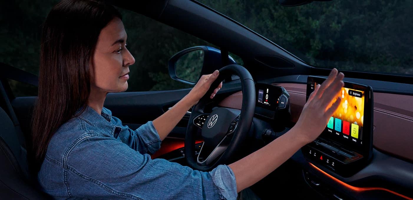 2021 Volkswagen ID.4 technology features