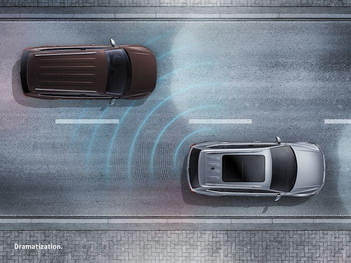 2021 Volkswagen ID.4 Active Side Assist (Blind Spot Monitor) safety feature