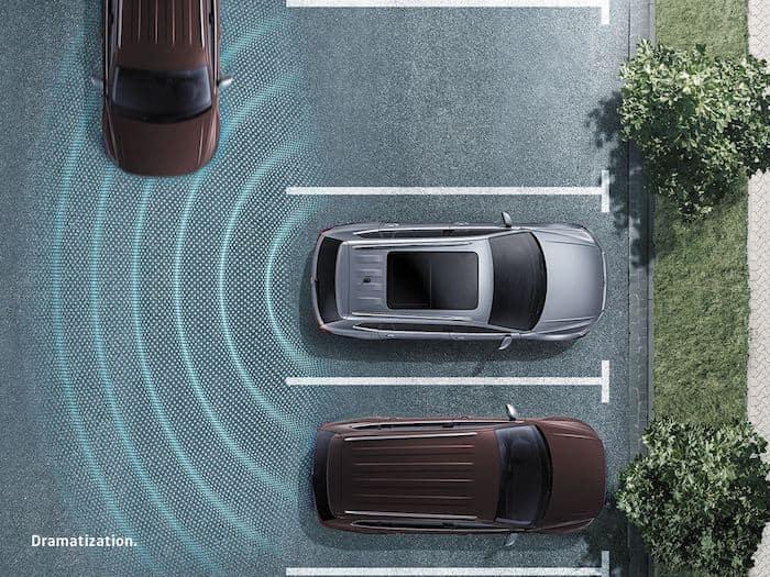 2021 Volkswagen ID.4 Rear Traffic Alert safety feature