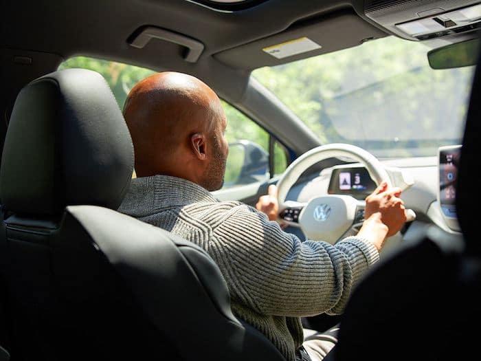 2021 Volkswagen ID.4 intuitive start feature