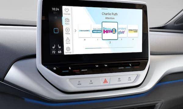 2021 Volkswagen ID.4 SiriusXM music