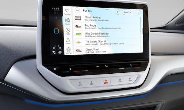 2021 Volkswagen ID.4 SiriusXM news