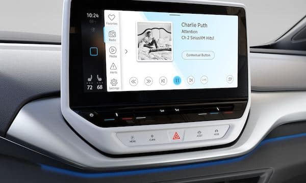 2021 Volkswagen ID.4 SiriusXM entertainment