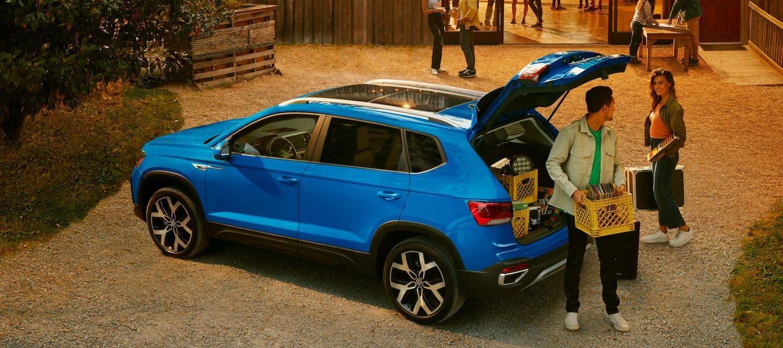2022 Volkswagen Taos design features