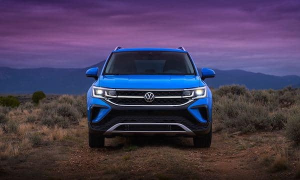 2022 Volkswagen Taos available rain-sensing windshield wipers