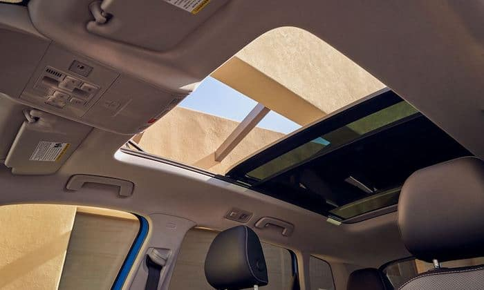 2022 Volkswagen Taos available panoramic sunroof