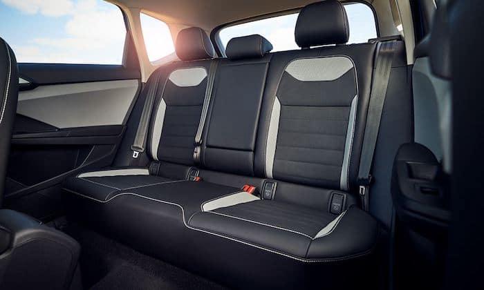 2022 Volkswagen Taos spacious backseat