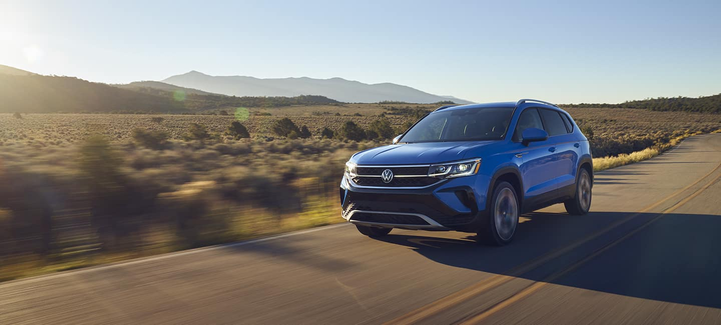 2022 Volkswagen Taos 4MOTION and turbocharged engine performance