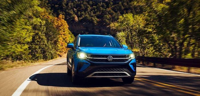 2022 Volkswagen Taos 158-horsepower turbocharged engine
