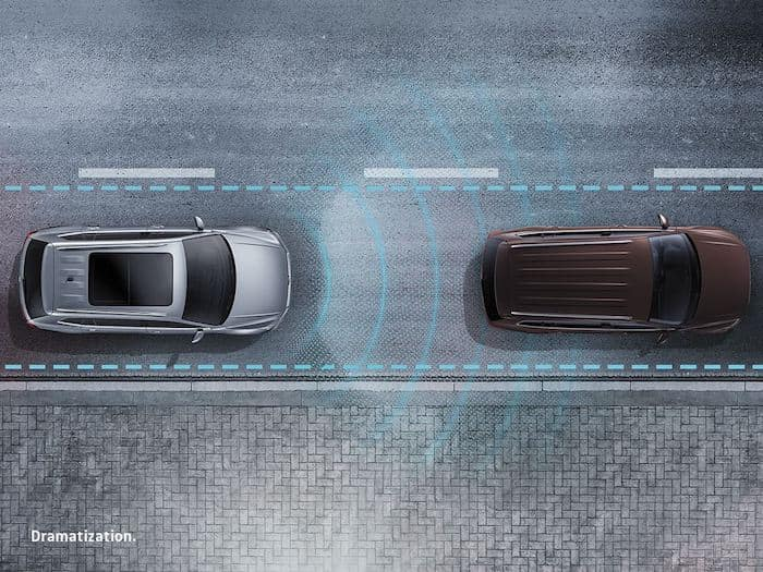 2022 Volkswagen Taos available Forward Collision Warning (included in Front Assist) system