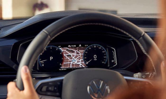 2022 Volkswagen Taos Digital Cockpit