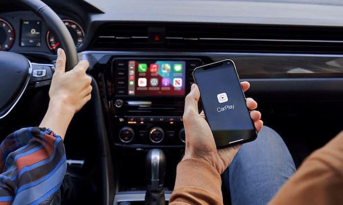 2022 Volkswagen Taos Apple Carplay