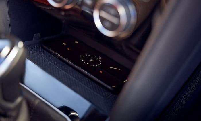 2022 Volkswagen Taos with available wireless charging for compatible devices