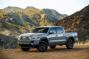2021 Toyota Tacoma vs 2021 Chevy Colorado