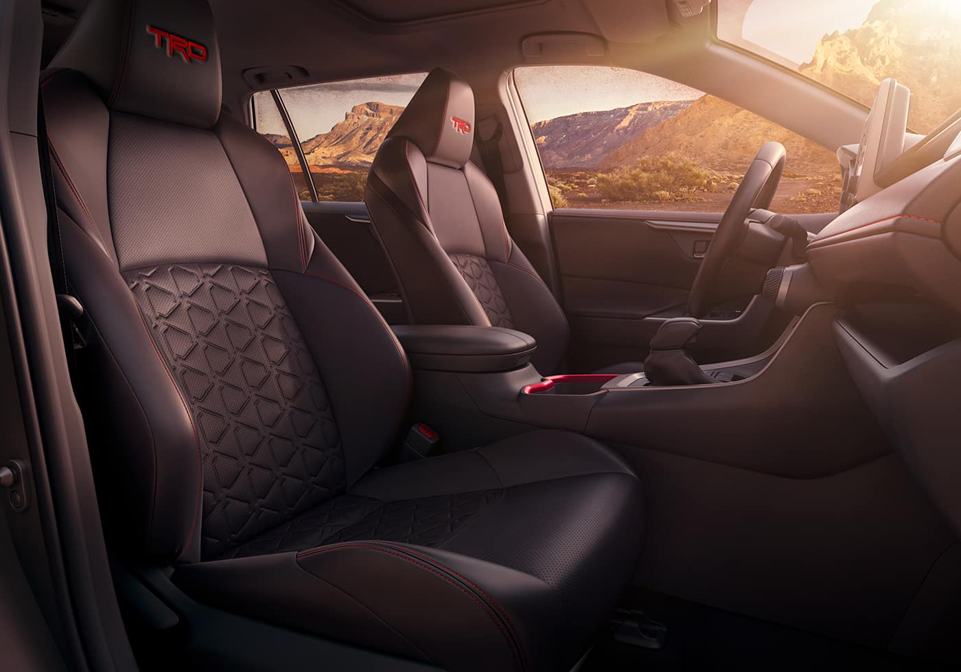 Performance features of the 2020 Toyota RAV4 at Boch Toyota | The seatings of the 2020 RAV4
