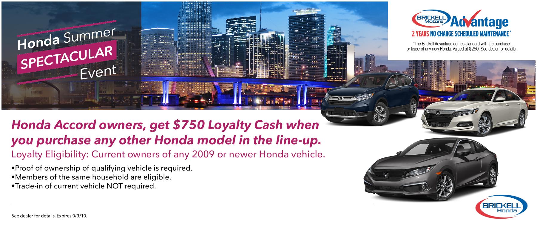 Summer Spectacular Event - Honda Accord