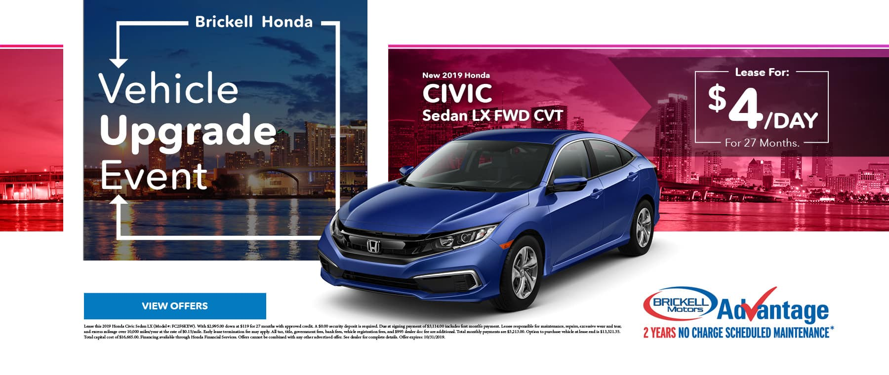 Brickell Honda Civic Sale