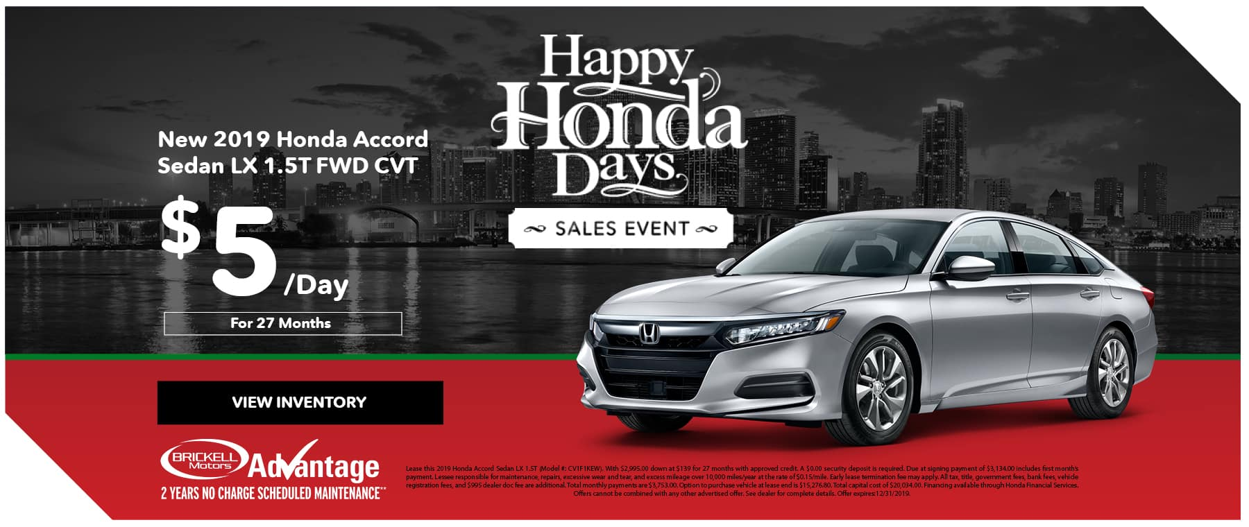 Happy Honda Days Accord